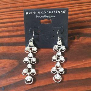 Jewelry - Silver Drop Earrings 😍